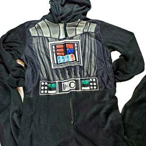 {Star Wars} Darth Vader Fleese Hooded Onsie